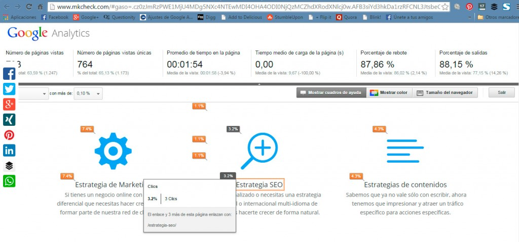 Search Console - Analitica de paginas